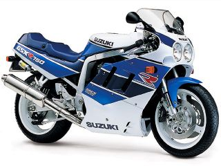 1990年 GSX-R750・マイナーチェンジ