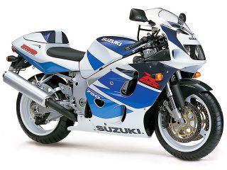 1998年 GSX-R750・マイナーチェンジ