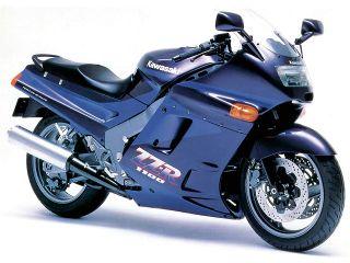 1991年 ZZR1100・マイナーチェンジ
