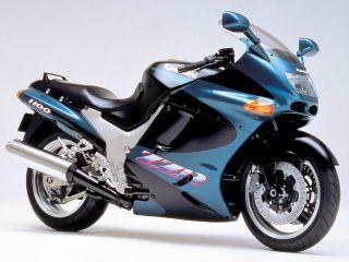 1993年 ZZR1100・フルモデルチェンジ