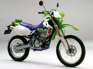 1995年 KLX250SR・カラーチェンジ