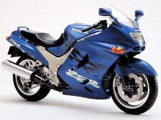 1995年 ZZR1100・カラーチェンジ