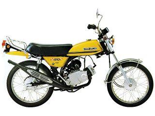 1971年 HUSTLER 50・新登場