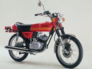 1977年 RD50・マイナーチェンジ