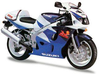 1997年 GSX-R600・フルモデルチェンジ