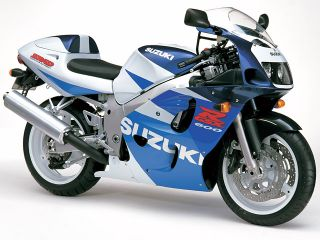 1998年 GSX-R600・マイナーチェンジ