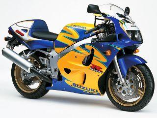 1999年 GSX-R600・カラーチェンジ