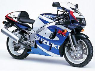 2000年 GSX-R600・カラーチェンジ