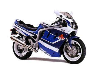 1991年 GSX-R1100・マイナーチェンジ