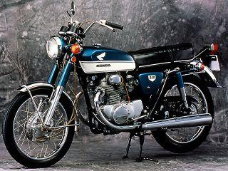 1968年 Dream CB350 EXPORT・新登場